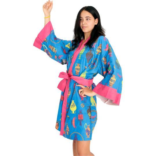 Kimono Blue Amphora