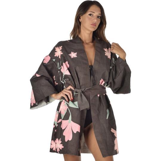 Kimono Black Snake